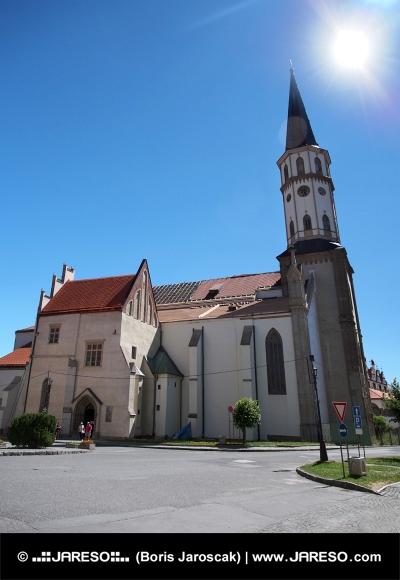 Kostol svätého Jakuba v Levoči