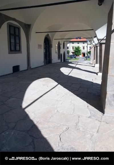 Arkády radnice v Levoči
