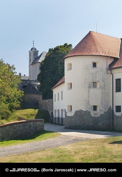 Opevnenie hradu Červený Kameň, Slovensko