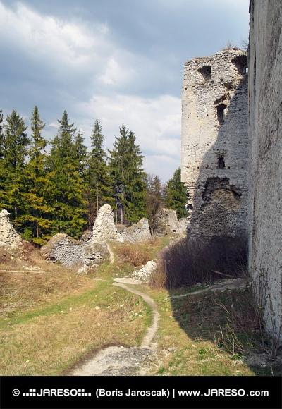 Zrúcanina hradu Lietava, Slovensko