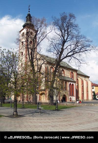 Historický kostol Nanebovzatia Panny Márie v Banskej Bystrici
