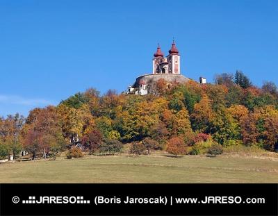 Kalvária na Ostrom vrchu pri meste Banská Štiavnica