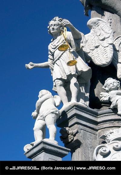 Socha Svätého Michala v Banskej Štiavnici