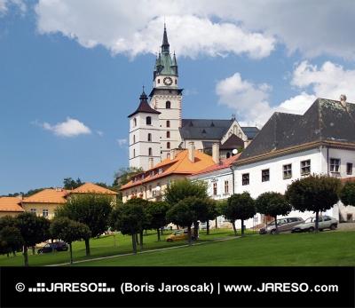 Hlavné námestie a mestský hrad v Kremnici