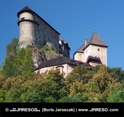 Oravský hrad na vysokej skale, Slovensko