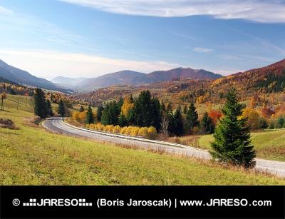 Cesta do obce Terchová, Slovensko