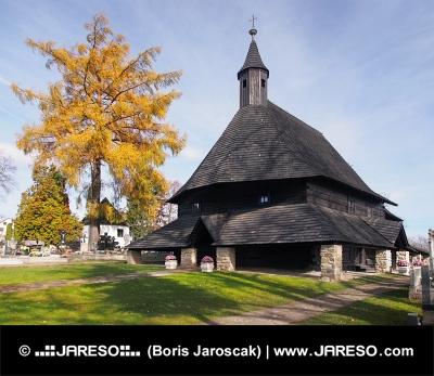 Kostol v Tvrdošíne patriaci do zoznamu UNESCO