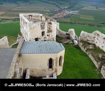 Palác a kaplnka na Spišskom hrade
