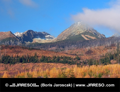 Vysoké Tatry na jeseň, Slovensko