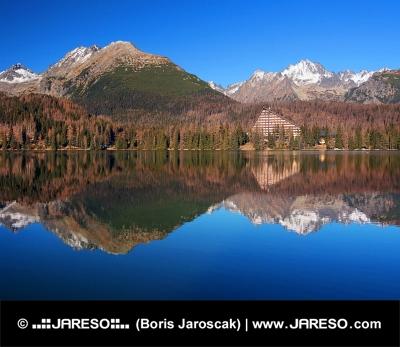Vysoké Tatry sa odrážajú v Štrbskom Plese