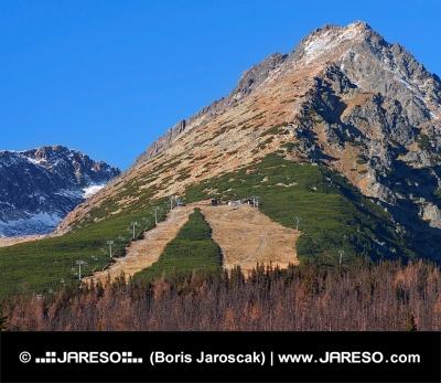 Jeseň na Prednom Solisku vo Vysokých Tatrách