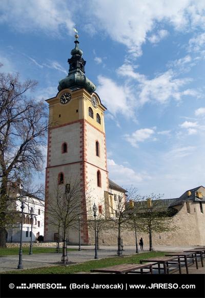 Mestský hrad v Banskej Bystrici na Slovensku
