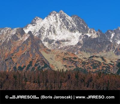 Majestátne vrcholy vo Vysokých Tatrách na jeseň