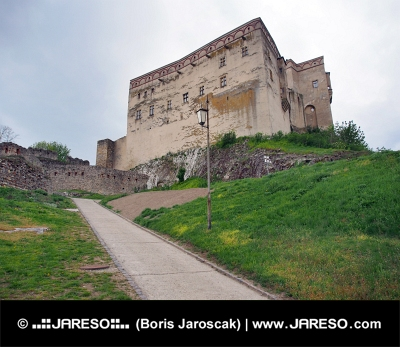 Palác na Trenčianskom hrade, Slovensko