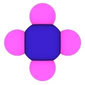 Metán (CH4 Molekula)