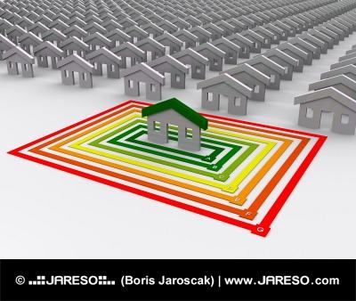 Iba jedna stavba je energeticky efektívna