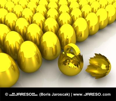 Zlaté vajce a symbol LIBRY