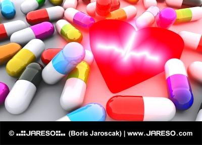 Pilulky, srdce a EKG