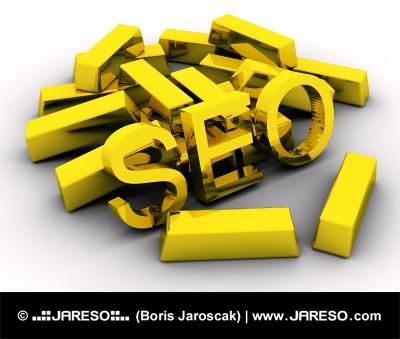 Zlaté tehly a text SEO