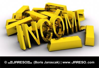 Zlaté tehly a príjem