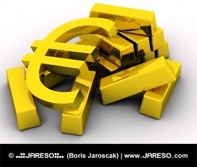 EURO na zlatých tehlách